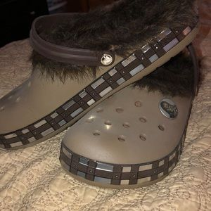Men's Star Wars CROCS NWOT.